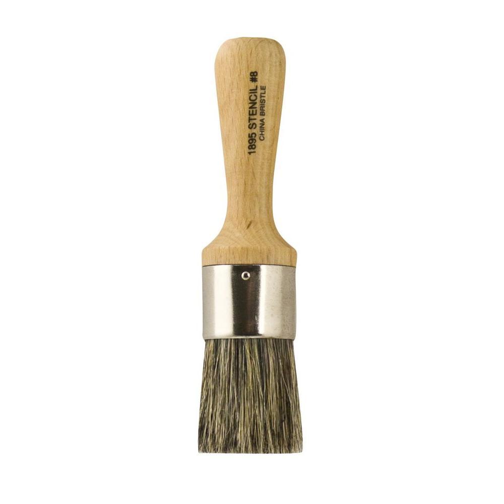 1-1/4 in. Bristle Stencil Brush