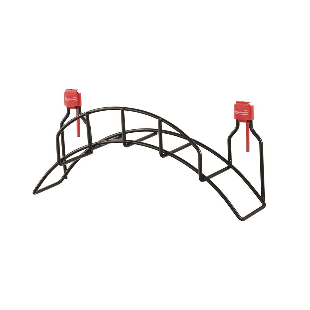 Rubbermaid Rubbermaid Storage Shed Garden Hose Holder, Blacks