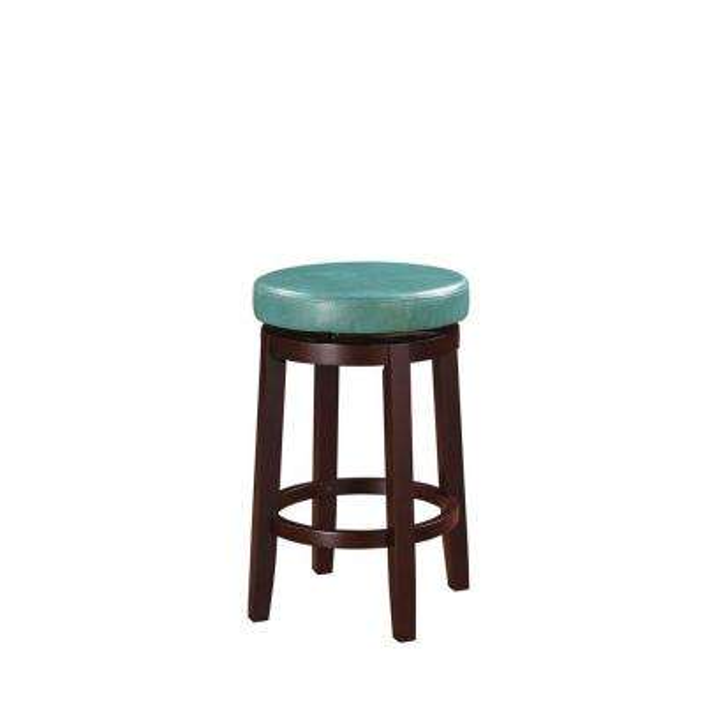 Marvelous Teal Swivel Bar Stools Kitchen Dining Room Furniture Creativecarmelina Interior Chair Design Creativecarmelinacom