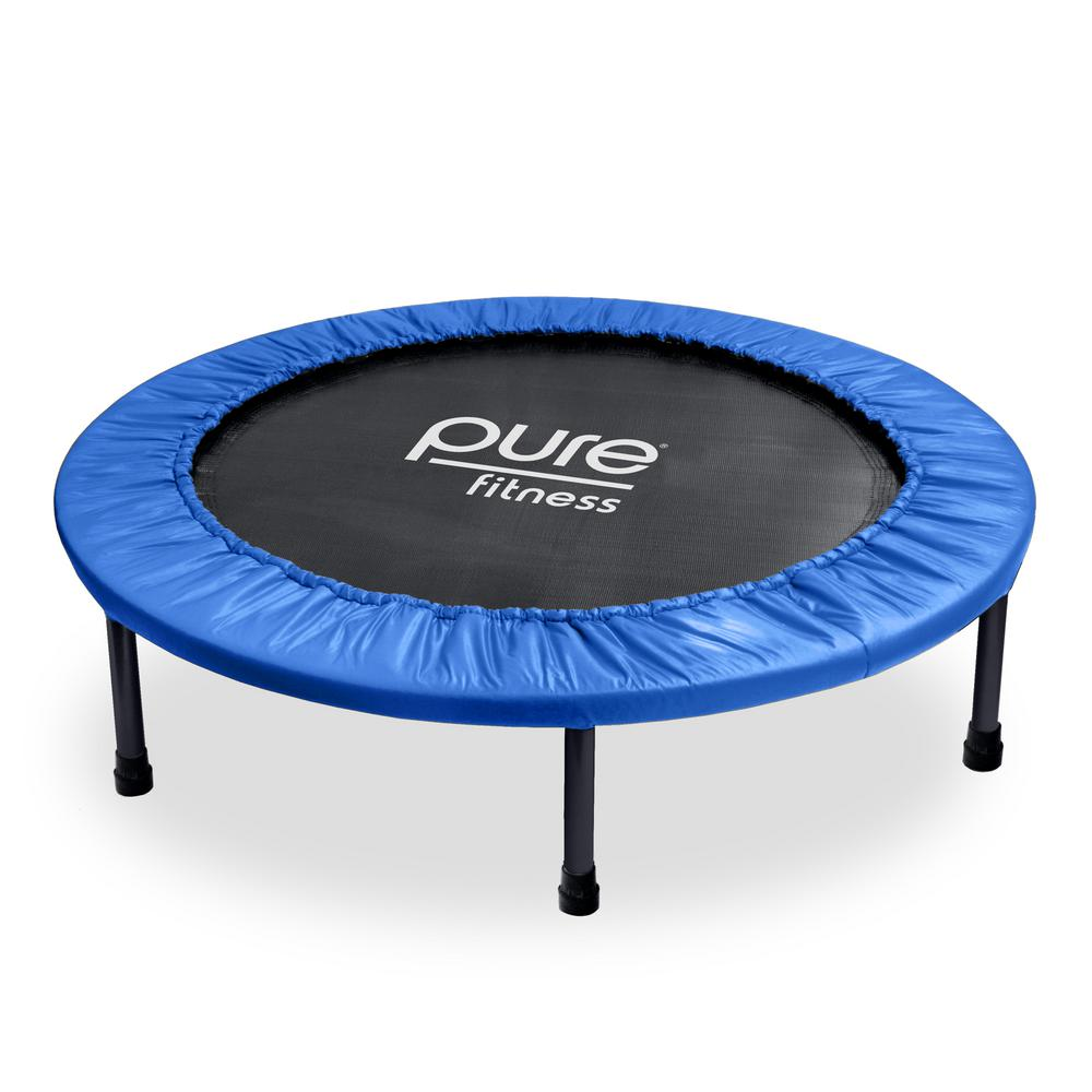 40 in. Mini Trampoline Rebounder
