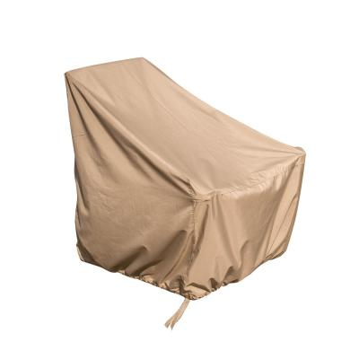 36 in. x 33 in. x 40 in. Universal Sandstone Adirondack Chair Cover Weather-Resistant Protective Cover with Draw Strings