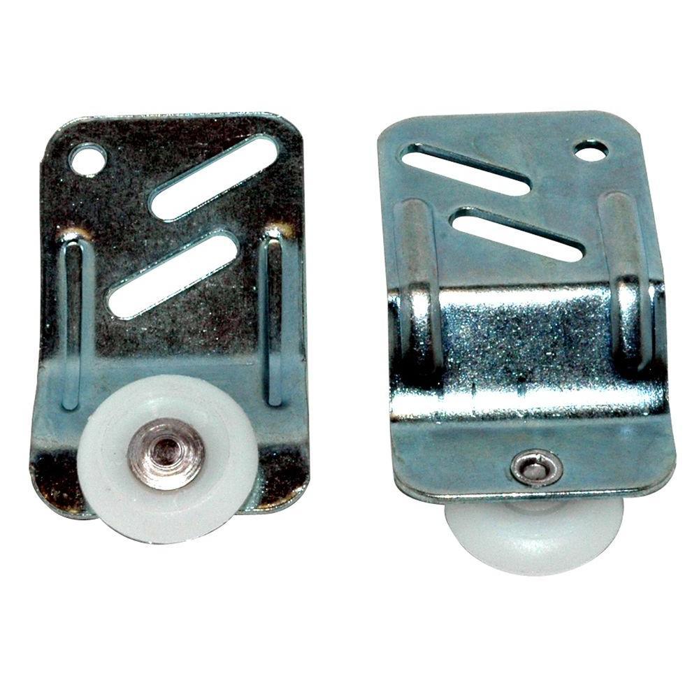 Adjustable By-Pass Closet Door Hanger Kit (4-Piece)