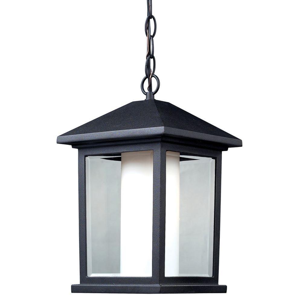 Filament Design Gleam Black Outdoor Pendant-CLI-JB-031485