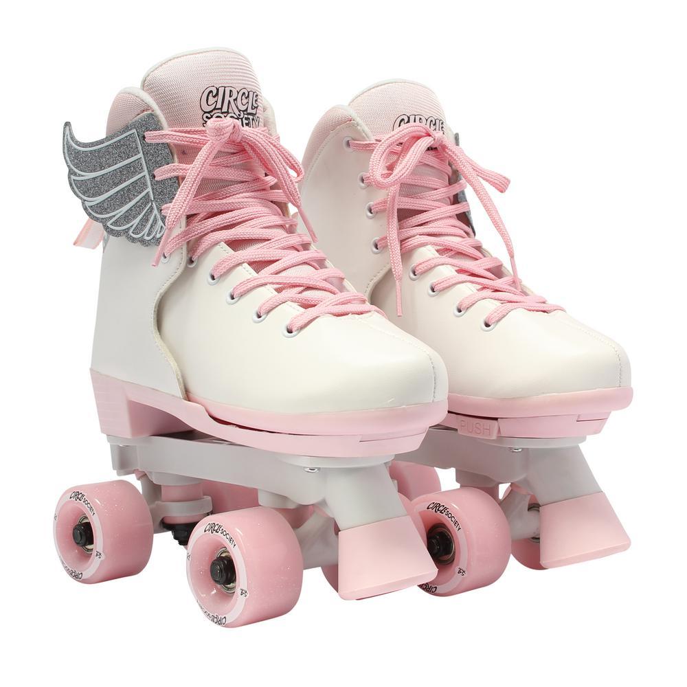 Girls Size 3-7 Classic Pink Vanilla Skates
