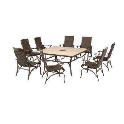 Pembrey 9-Piece Patio Dining Set