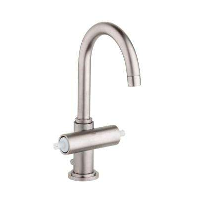 Atrio Single Hole 2-Handle Bathroom Faucet in Brushed Nickel InfinityFinish (Handles Sold Separately)