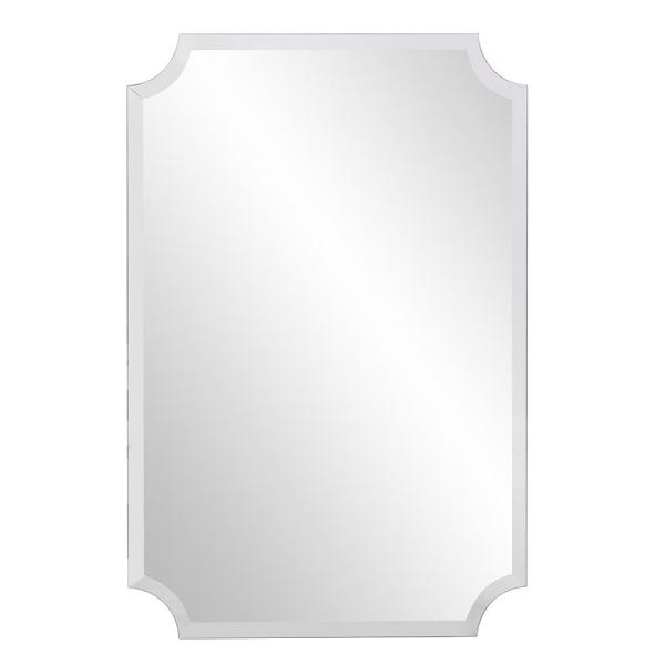 Unbranded Medium Rectangle Beveled Glass Mirror 36 In H X 24 In W 36008 The Home Depot