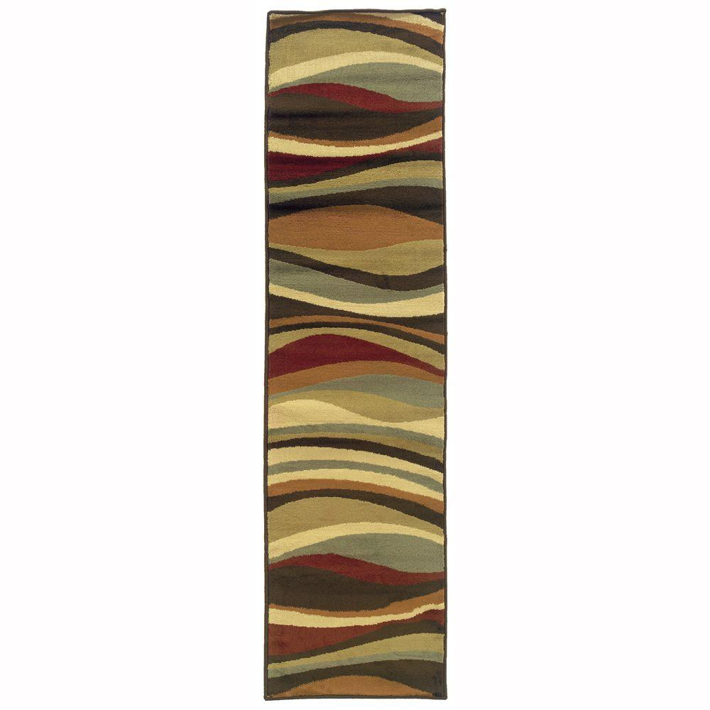 Oriental Weavers Grace Torres Multi 1 Ft 10 In X 7 Ft 3