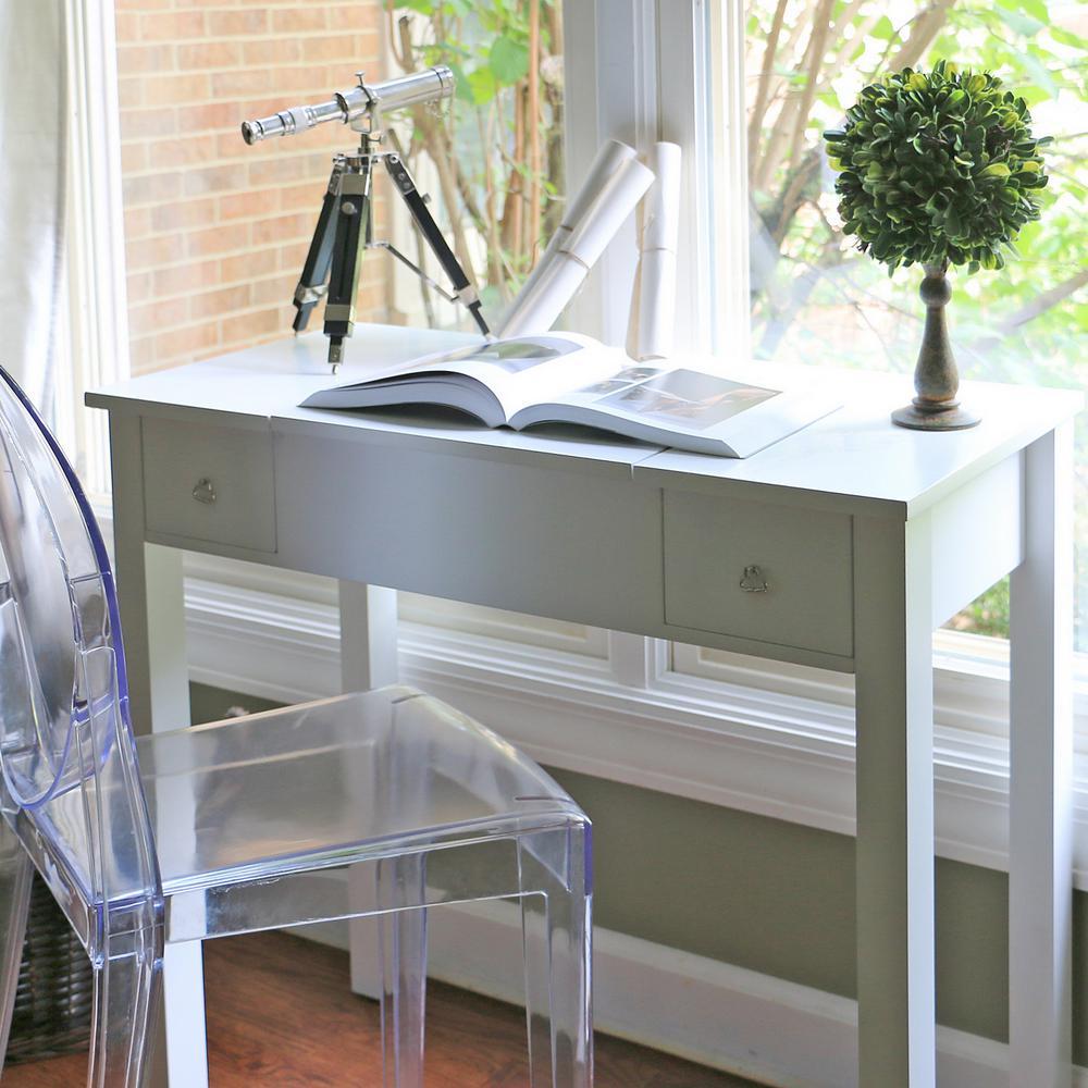 Wessex White Wood Vanity Table