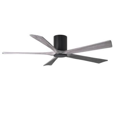 Irene 60 in. LED Indoor/Outdoor Damp Matte Black Ceiling Fan with Remote Control and Wall Control