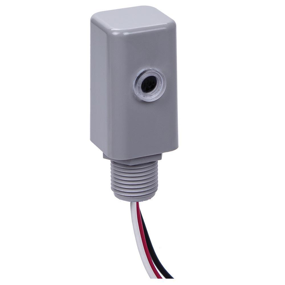 EK4000 1,000-Watt LED/Incandescent Stem Mount Electronic Photo Control, Gray