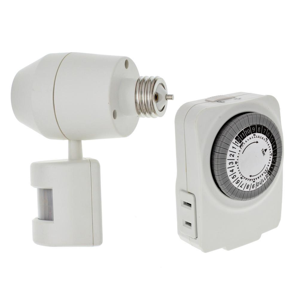 Home Protection Bundle with Single Pole Occupancy Sensor