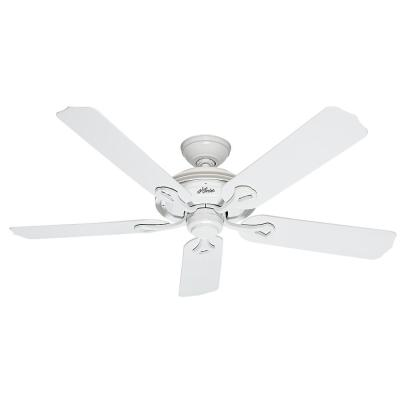 Mariner 52 in. Indoor/Outdoor White Ceiling Fan