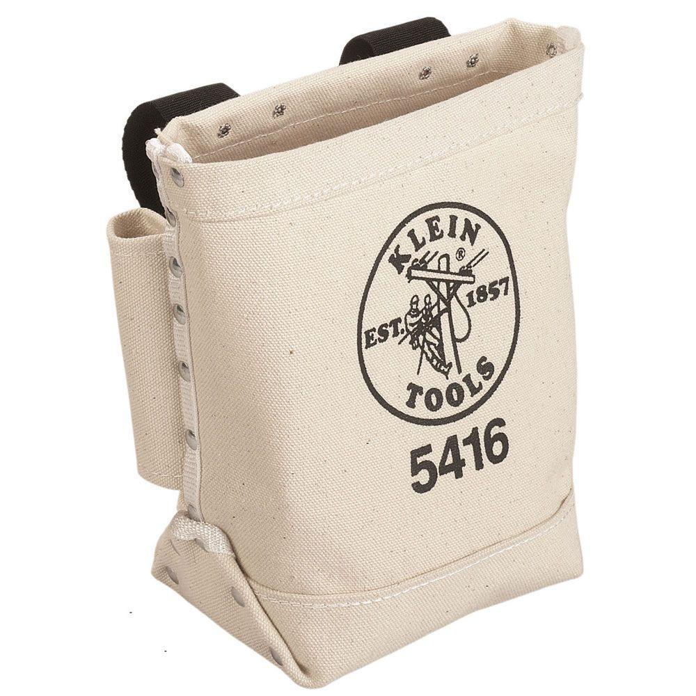 Canvas Bull-Pin and Bolt Bag,  Natural
