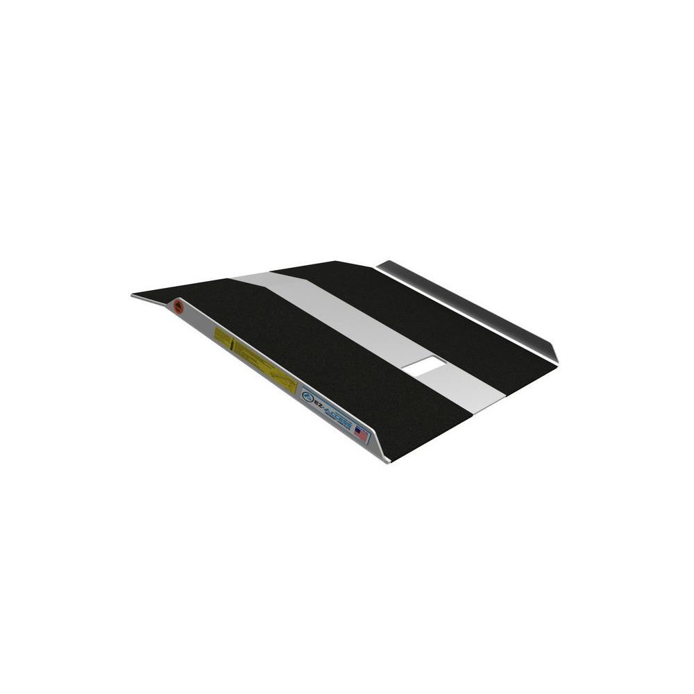 EZ-ACCESS TRAVERSE Aluminum Curb Plate 27 in. L x 27 in. W