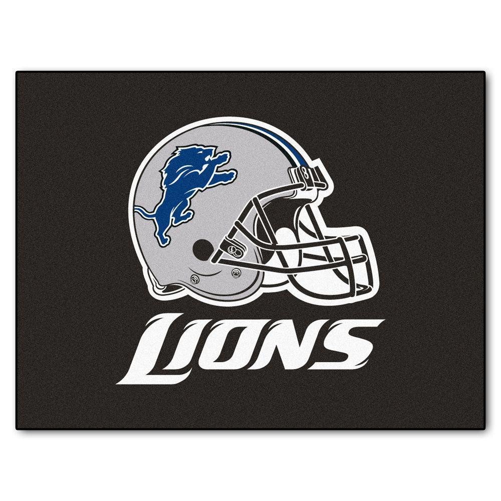 Detroit Lions 3 ft. x 4 ft. All-Star Rug