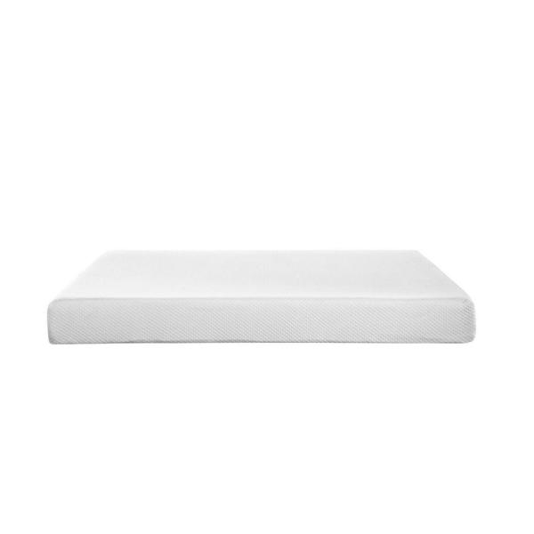 MODWAY Aveline 8 in. King Mattress in White MOD-5490-WHI