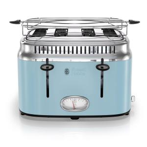Russell Hobbs Retro Style 4-Slice Heavenly Blue and