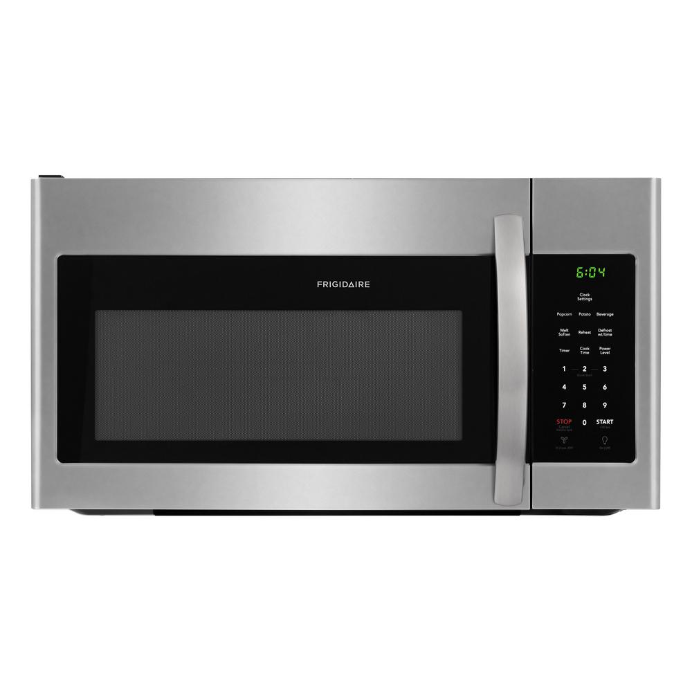 Attirant Frigidaire 30 In. 1.6 Cu. Ft. Over The Range Microwave In Stainless Steel