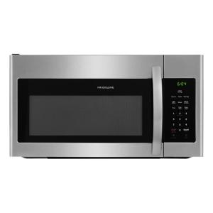 Frigidaire 30 In 1 6 Cu Ft Over The Range Microwave Stainless Steel Ffmv1645ts Home Depot