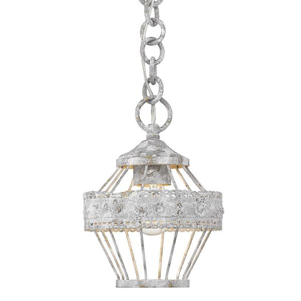 Ferris 1-Light Oyster Mini Pendant