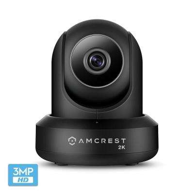 UltraHD 2K WiFi Camera 3MP Security Wireless IP Camera with Pan/Tilt Dual Band 5ghz/2.4 GHZ 2-Way Audio Night Vision