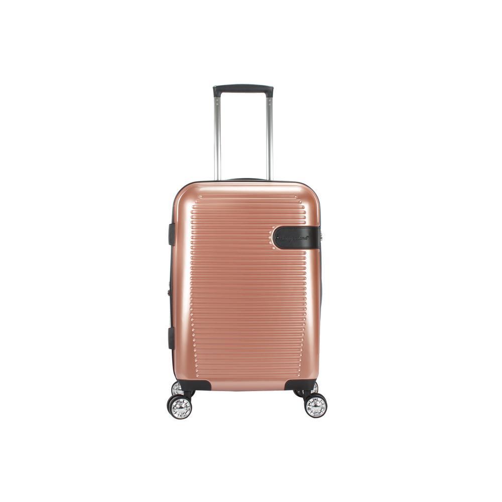Glenn 22 in. Copper Hard Side Spinner Luggage