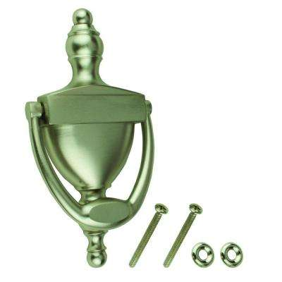 6-5/16 in. Satin Nickel Door Knocker