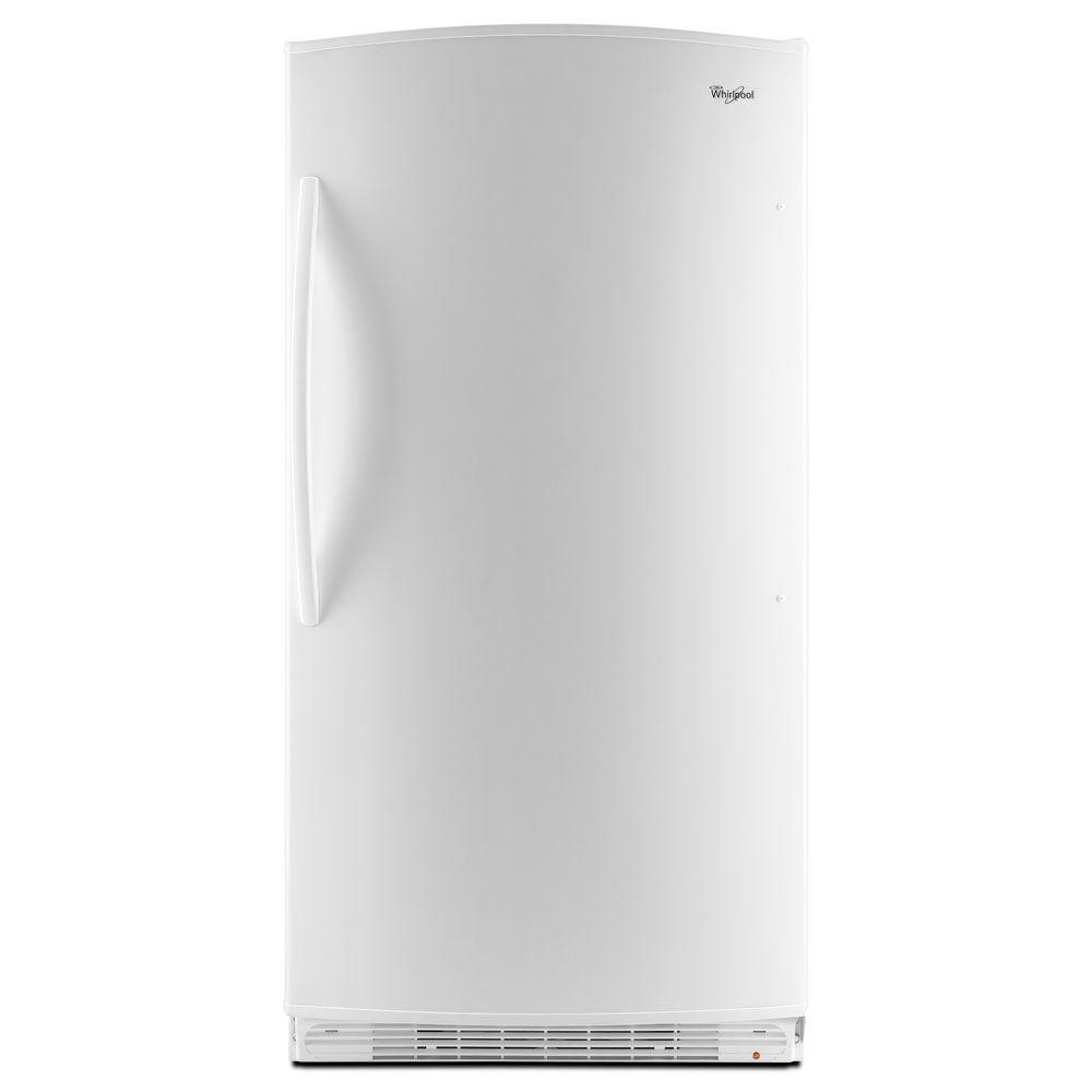 Whirlpool 20.1 cu. ft. Frost Free Upright Freezer in White