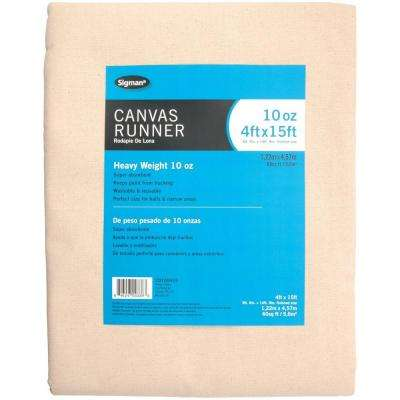 3 ft. 9 in. x 14 ft. 9 in., 10 oz. Canvas Drop Cloth Runner
