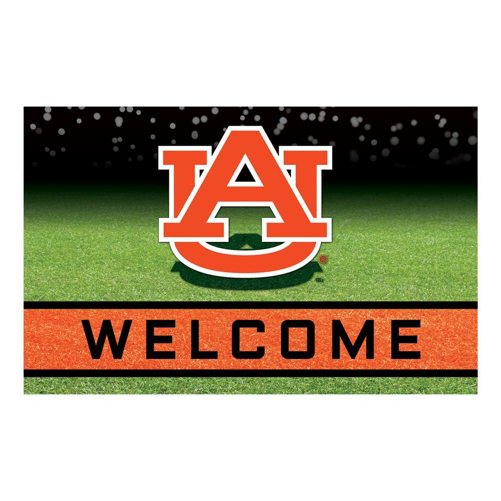 Auburn University 18 in. x 30 in. Rubber Door Mat