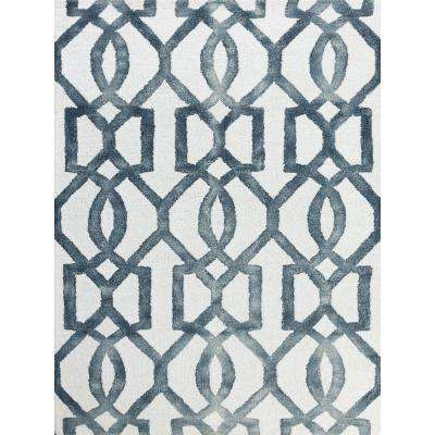 Shiloh Sapphire 5 ft. x 8 ft. Rectangle Area Rug