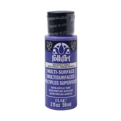 2 oz. Perfect Purple Multi Surface Paint