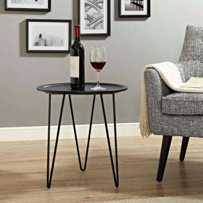 Digress Side Table in Black