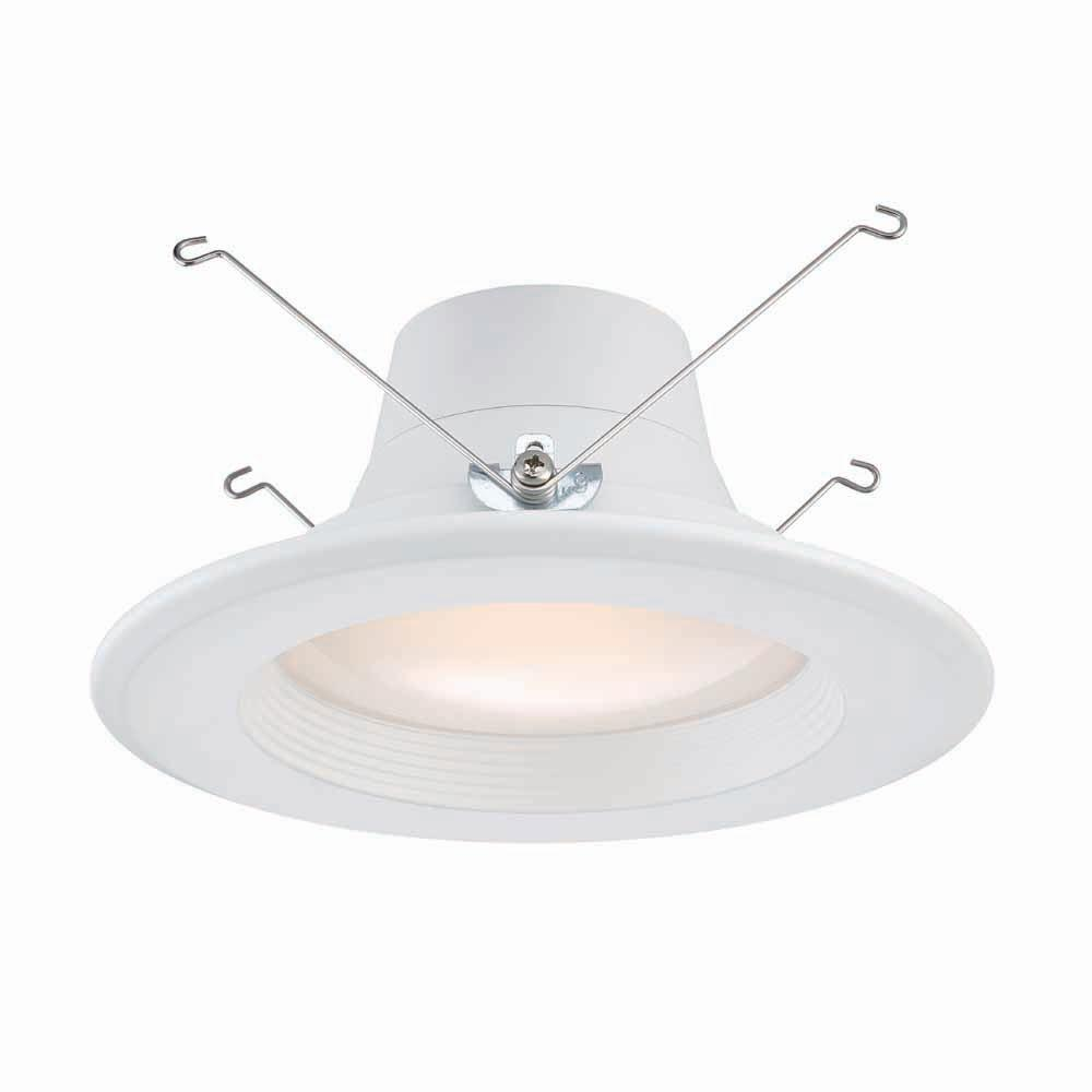 Recessed Lighting Electric Bill : Commercial electric in and white integrated led