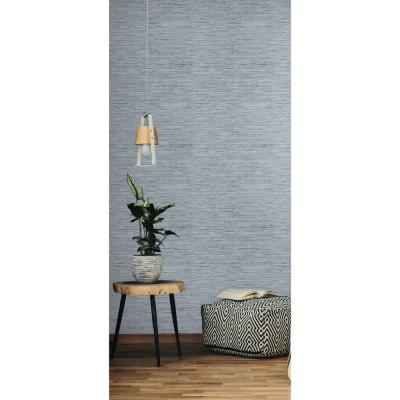 28.18 sq ft Grasscloth Peel and Stick Wallpaper