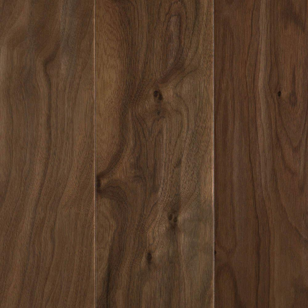 Mohawk Natural Walnut 3 8 In Thick X 5 Wide Random Length Soft Scraped Engineered Hardwood Flooring 235 Sq Ft Case HEWS5 04