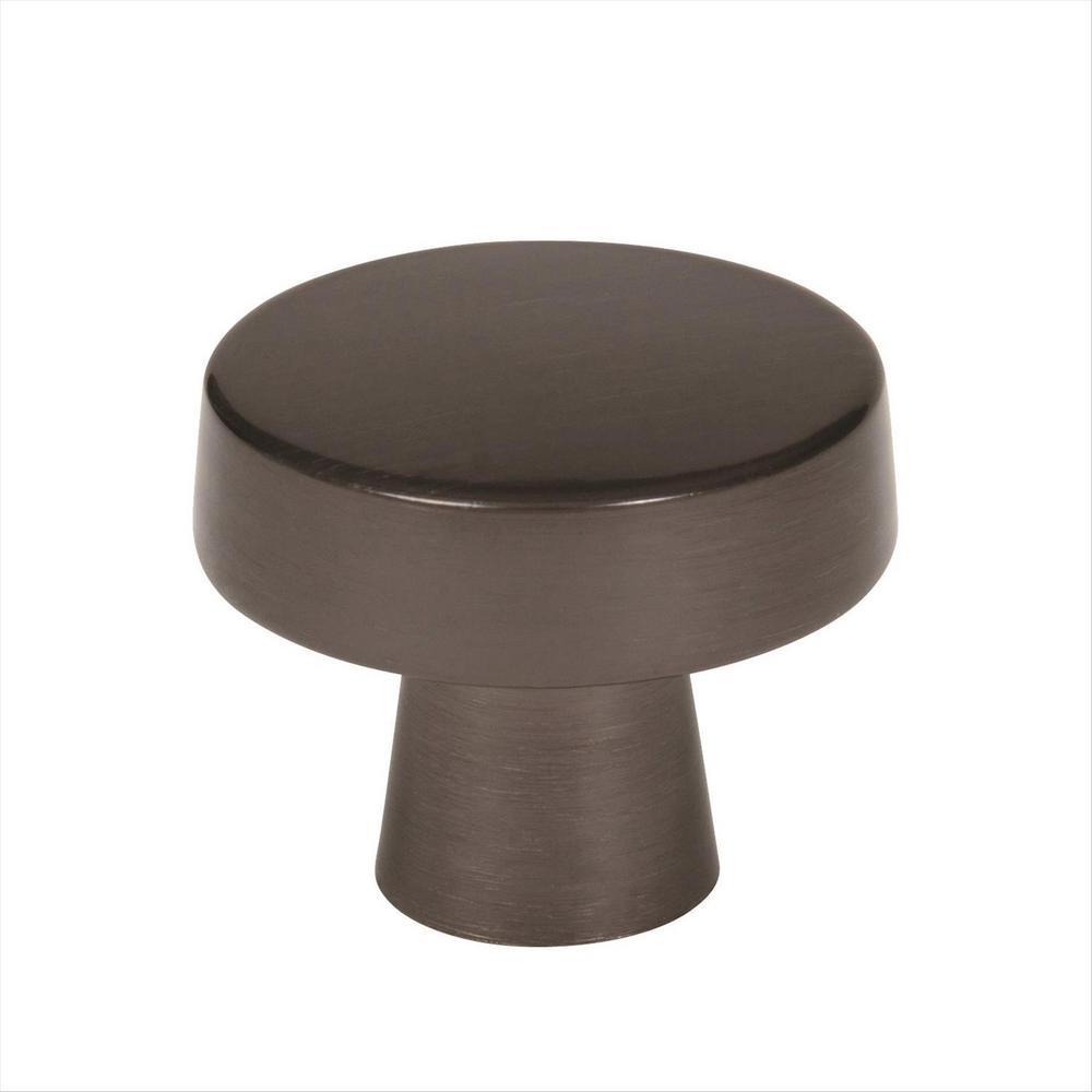 Blackrock 1-5/8 in (44 mm) Diameter Gunmetal Cabinet Knob