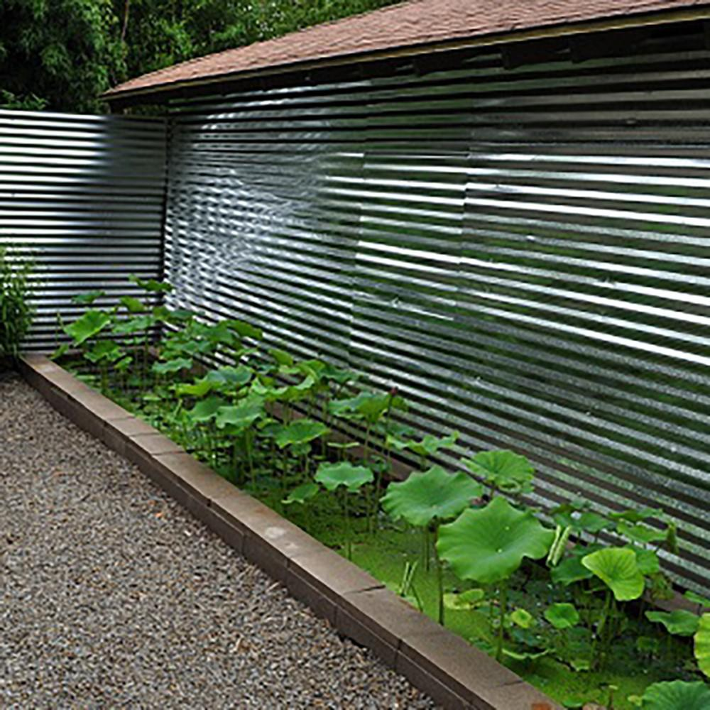 Fabral 8 Ft Galvanized Steel Corrugated Roof Panel 4736051000 The Home Depot