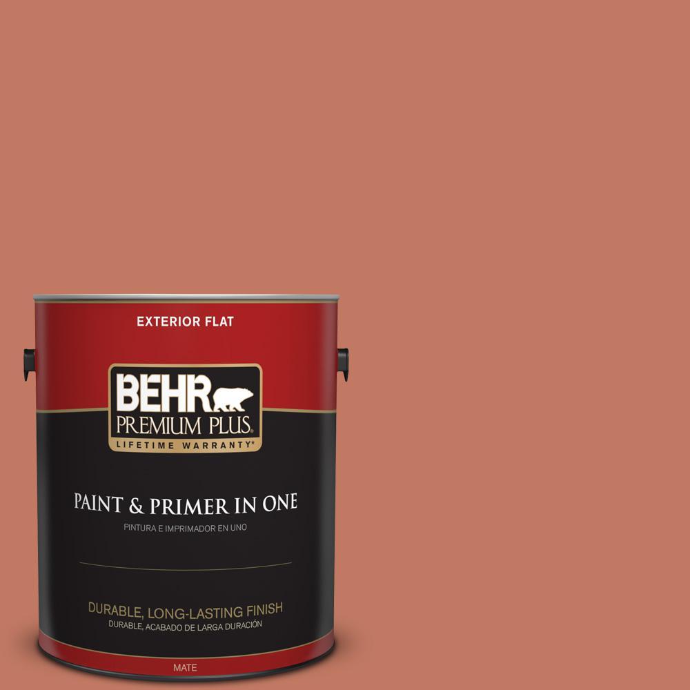 behr premium plus 1 gal mq1 26 pinata flat exterior paint and