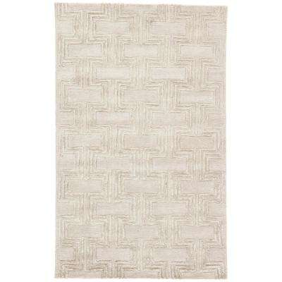 Goat 2 ft. x 3 ft. Geometric Area Rug