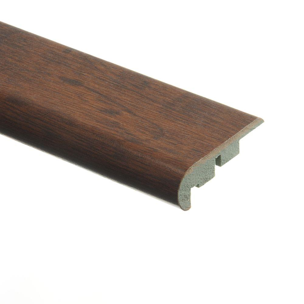 Zamma Weathered Oak 3/4 in. Thick x 2-1/8 in. Wide x 94 in. Length Laminate Stair Nose Molding