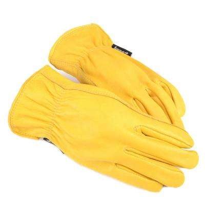 Men's L Premium Deerskin Leather Driver's Gloves