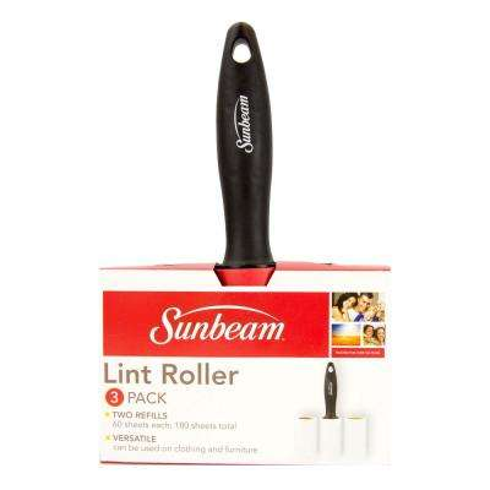 2 Refillable Rolls Lint Roller