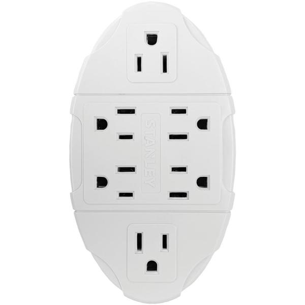 6-Outlet Transformer Wall Tap