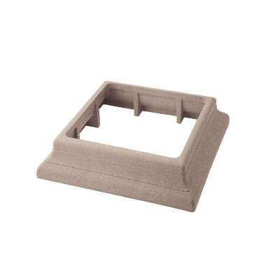 Vantage 5-1/2 in. x 5-1/2 in. Desert Sand Composite Beveled Post Trim Collar