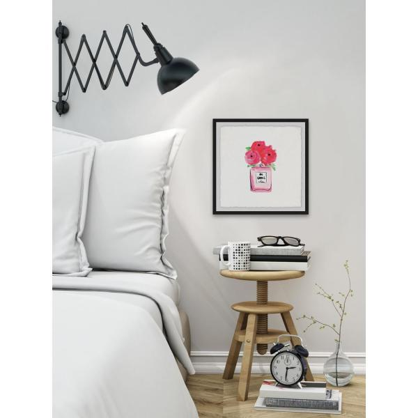 24 in. H x 24 in. W ''Blooming Pink'' by Marmont
