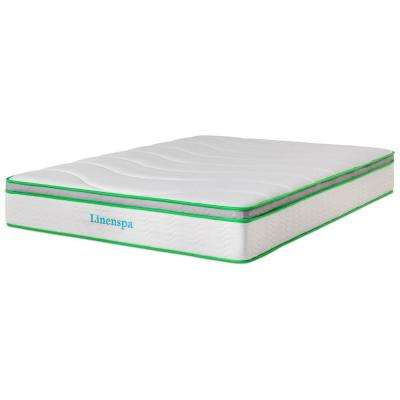 10 in. Queen Latex Hybrid Mattress