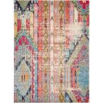 Sedona Yosemite Multi 8 ft. x 11 ft. Area Rug