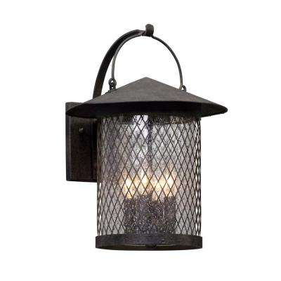 Altamont 4-Light French Iron Outdoor Wall Lantern Sconce
